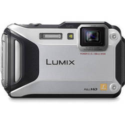 Panasonic Lumix DMC-TS5 Digital Camera (Silver)