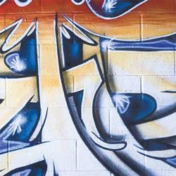 Lastolite Urban Collapsible Background (5 x 7', Distressed Paper/Graffiti Art)