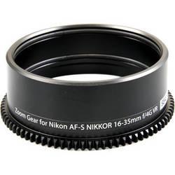 Sea & Sea Lens Zoom Gear for Nikon AF-S 16-35mm f/4G ED VR in Lens Port