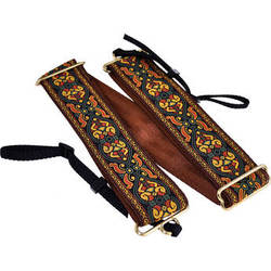 """Souldier Braveheart 2"""" Camera Strap (Brown with Nutmeg and Forest Green Accents)"""