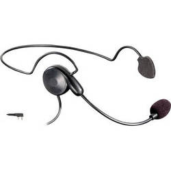 Eartec Cyber Headset with Inline PTT & Kenwood 2-Pin Connector