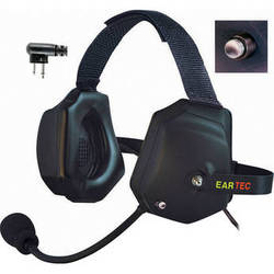Eartec Xtreme Headset With Shell Mount PTT Control for 2-Pin Motorola Radios