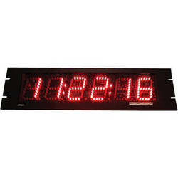"alzatex DSP206B4_RM 6-Digit Display with 2.5"" High LED Digits"