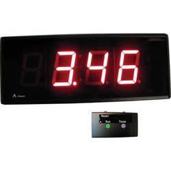"alzatex DSP254B_U 4-Digit Race Clock with 2.33""-High Solid-Segment Digits"