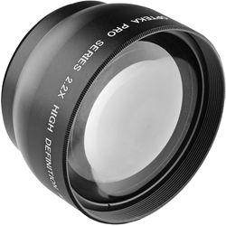 Opteka 2.2x 58mm High Definition II Telephoto Lens for Digital Cameras (Black)