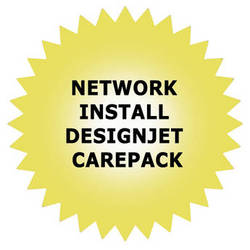 HP Network Installation Service for DesignJet High-End and Midrange Printers