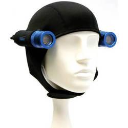 Bigblue Neoprene Hood with 2 Light Holsters for Mini Lights (Black)