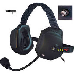 Eartec XTreme Headset with Shell-Mounted PTT