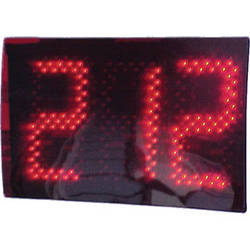 "alzatex DSP703B 3-Digit Display with 7"" High LED Digits"