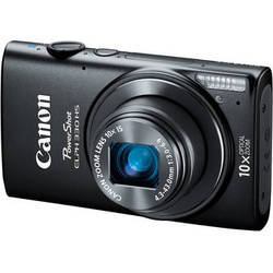 Canon PowerShot ELPH 330 HS Digital Camera (Black)