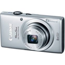 Canon PowerShot ELPH 115 IS Digital Camera (Silver)