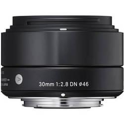 Sigma 30mm f/2.8 DN Lens for Sony E-mount Cameras (Black)