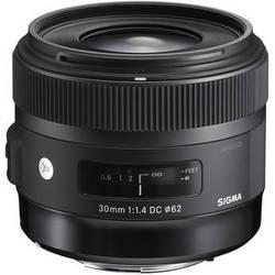 Sigma 30mm f/1.4 DC HSM Art Lens for Sigma
