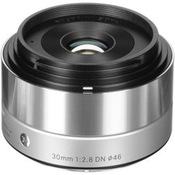 Sigma 30mm f/2.8 DN Art Lens for Micro Four Thirds (Silver)