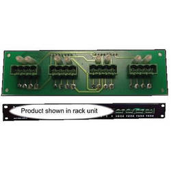 alzatex KTPH4A0 Patch Panel Block with Four 4-Pin Phoenix Connectors