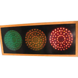 alzatex RYG472A_OAK Large Red-Yellow-Green Indicator