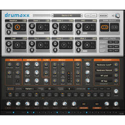 Image-Line Drumaxx Percussion Modeler VSTi Plug-in (Electronic Download)