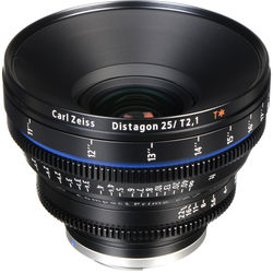 Zeiss CP.2 25mm T2.1 Compact Prime Lens (EF Mount)