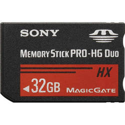 Sony 32GB Memory Stick Pro-HG Duo HX