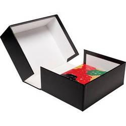 """Print File PBW8104 8 x 10"""" Clamshell Portfolio Box (Black)"""