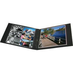Print File BL-ALB Linen Oversize 3-Ring Album (Black)