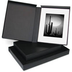"Print File Clamshell Box (17 x 22"", Black Interior)"