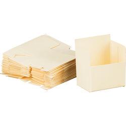 Print File SB24 Slide Storage Boxes (24-Pack, Cream)