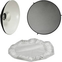 "Impact 20"" Beauty Dish Reflector Kit"