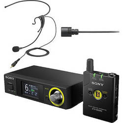 Sony DWZ Series Digital Wireless Headset & Lavalier Set