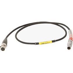 """Ambient Recording 23.6"""" LEMO 0B 5-Pin to TA3F Timecode-Input Cable for Sound Devices 552 Field Mixer"""