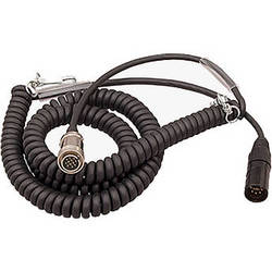 Ambient Recording Tajimi 12-Pin Male to 7-Pin XLR Male Coiled Breakaway Cable (4.5 to 16.4')