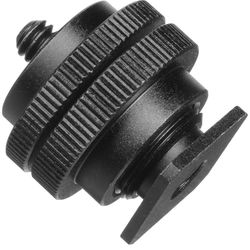 """Pearstone Accessory Shoe Adapter with 1/4""""-20 Stud Connector"""
