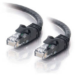 C2G 5' (1.52m) Cat6 Snagless Patch Cable (Black)