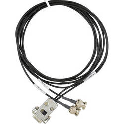 EPIX DB15 to 2 x BNC Plugs (XD0, XD4) PIXCI Cable (6')