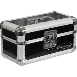 """Odyssey Innovative Designs Limited Edition Krom Record/Utility Case for 120 7"""" Vinyl Records (Black)"""