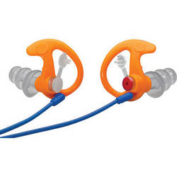 SureFire EP4 Sonic Defenders Plus Earplugs (Small, Orange, 25 Pairs)