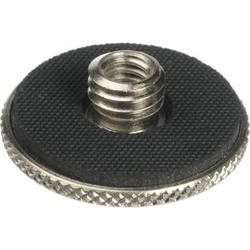 """Manfrotto 088LBP Female 1/4""""-20 to Male 3/8"""" Thread Adapter, with 1.18"""" Diameter Flange"""