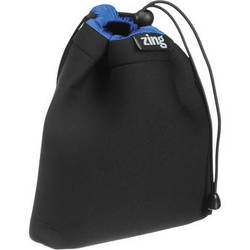 Zing Designs STB1 Stuff Pouch (Black/Blue)