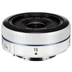 Samsung 16mm f/2.4 Ultra Wide Pancake Lens (White)