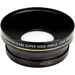 Bower 72mm 0.43x Super Wide Angle Conversion Lens