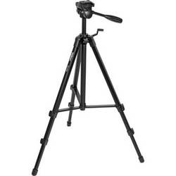 Velbon EX-530/F Aluminum Tripod With 3-Way Pan/Tilt Head
