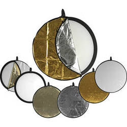 Impact 5-in-1 Collapsible Circular Reflector Disc - 42""