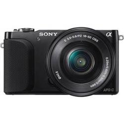 Sony Alpha NEX-3N Mirrorless Digital Camera with 16-50mm f/3.5-5.6 Lens (Black)