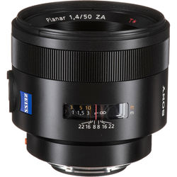 Sony Planar T* 50mm f/1.4 ZA SSM Lens