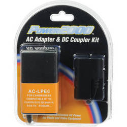 Power2000 AC-LPE6 AC Adapter and DC Coupler Kit