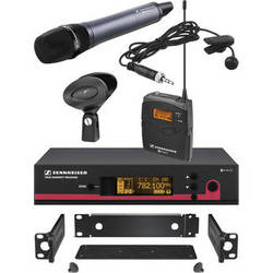 Sennheiser ew 122 / 135 G3 Wireless Contractor Combo Kit - Frequency A (516-558 MHz)