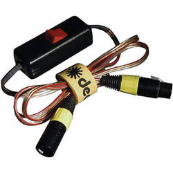 Dedolight Battery Cable, XLR to 4 Pin for DLH4 - 4'