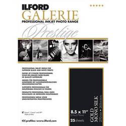 """Ilford GALERIE Prestige Gold Mono Silk Paper (8.5 x 11"""", 25 Sheets)"""