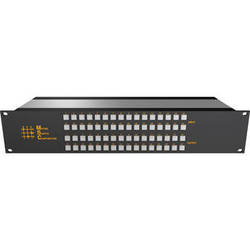 Matrix Switch 24 x 24 2RU 3G/HD/SD-SDI Video Router Switch with Button Control Panel