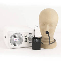 Anchor Audio AN-130BPC+ Powered Speaker and Wireless Bodypack Transmitter with Collar Mic